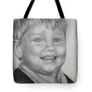 Little Boy Portrait Tote Bag