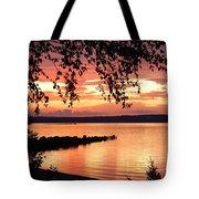 Little Breakwall Sunset Tote Bag