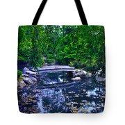 Little Bridge - Japanese Garden Tote Bag