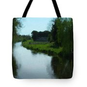 Little Brosna River Riverstown Ireland Tote Bag