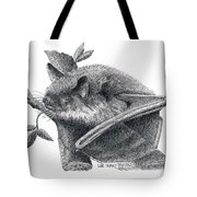 Little Brown Bat Tote Bag