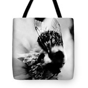 Little Bumble Bee Working For Dinner Tote Bag