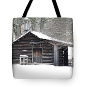 Little Cabin Tote Bag
