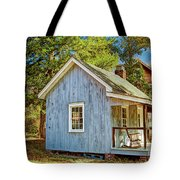 Little Cabin In The Country Pine Barrens Of New Jersey Tote Bag