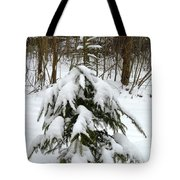 Little Christmas Tree Tote Bag