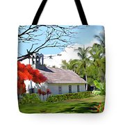 Little Church At Puako Big Island Tote Bag