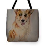 Little Corgi Tote Bag