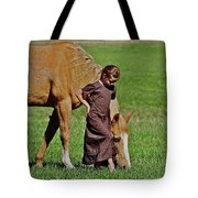 Little Country Girl Tote Bag