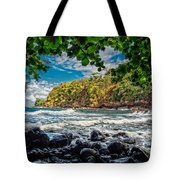 Little Cove On Hawaii' Tote Bag