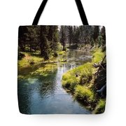 Little Deschutes Photograph Tote Bag