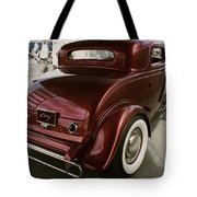 Little Deuce Coupe Aft View Tote Bag