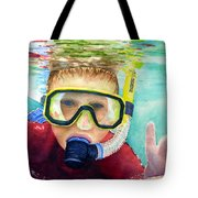 Little Diver Tote Bag