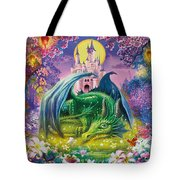 Little Dragon Tote Bag