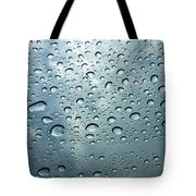Little Drops Of Rain Tote Bag