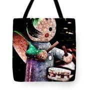 Little Drummer Girl Tote Bag