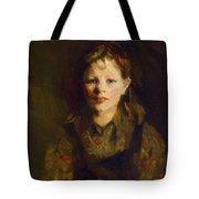 Little Dutch Girl Tote Bag