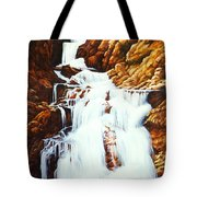 Little Firehole Falls Tote Bag