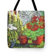 Little Flower Pot Garden Tote Bag