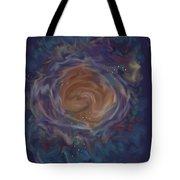 Little Ghost Nebula Tote Bag