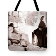 Little Girl In 1946 Tote Bag