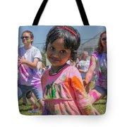 Little Girl Smiles Tote Bag