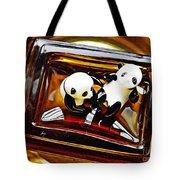 Little Glass Pandas 43 Tote Bag