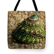 Little Green Turret Tote Bag