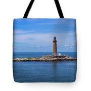 Little Gull Lighthouse Tote Bag