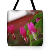 Little Hearts On A Vine  Tote Bag