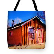 Little House In Lincoln Tote Bag