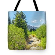 Little House On The River Tote Bag
