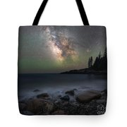 Little Hunters Cove At Night Tote Bag