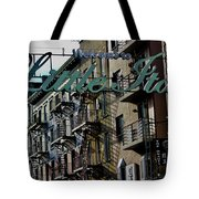 Little Italy In New York Tote Bag