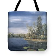 Little Lake In The Woods  Tote Bag