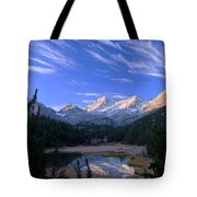 Little Lakes Valley Panorama Tote Bag