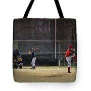 Little League Baseball Tote Bag