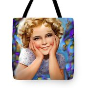Little Miss Shirley Tote Bag