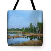 Little Musquatch Lake Tote Bag