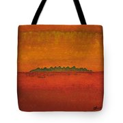 Little Needles Original Painting Tote Bag
