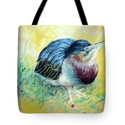 Little Night Heron Tote Bag