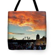 Little Party At The Mission Tote Bag