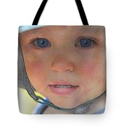 Little Pilgrim Myles Alden At 1yo Tote Bag