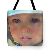 Little Pilgrim Myles Alden At 1yo Tote Bag