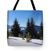 Little Pine Forest - Impressions Of Mountains Tote Bag