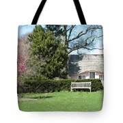 Little Pink House Tote Bag