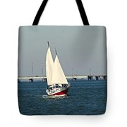 Little Red Boat Tote Bag