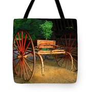 Little Red Buggy Tote Bag