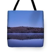 Little Red Fish Lake Tote Bag