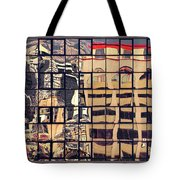 Little Red Riding Roof Tote Bag