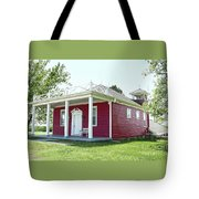 Little Red Schoolhouse, Council Grove Tote Bag